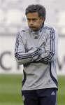 サッカー=モウリーニョ監督が「行儀良い観戦」を呼び掛け