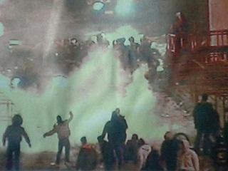 ◎ファンが暴動、警官死傷=国内リーグ、当面休止も-イタリア・サッカー